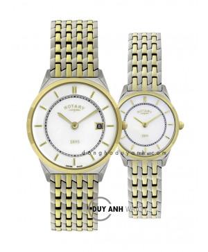 Đồng hồ đôi Rotary GB08001/02 và LB08001/02