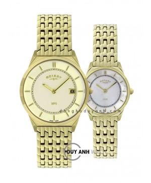 Đồng hồ đôi Rotary GB08002/03 và LB08002/40