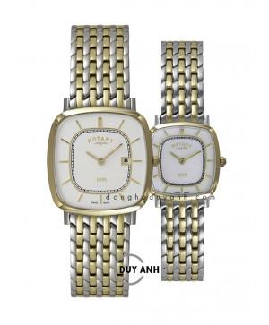 Đồng hồ đôi Rotary GB08101/02 và LB08101/02