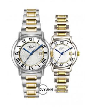 Đồng hồ đôi Rotary GB90141/06 và LB90141/06