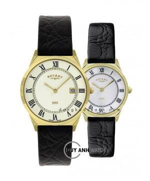 Đồng hồ đôi Rotary GS08002_10 và LS08002_41