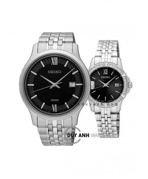 Đồng hồ đôi Seiko SUR221P1 và SUR733P1
