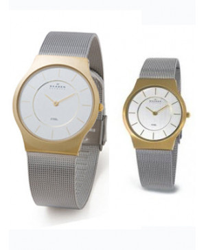 Đồng hồ đôi Skagen 233LGS và 233SGS