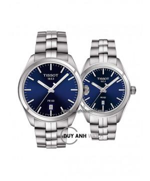 Đồng hồ đôi Tissot PR 100 T101.410.11.041.00 và T101.210.11.041.00