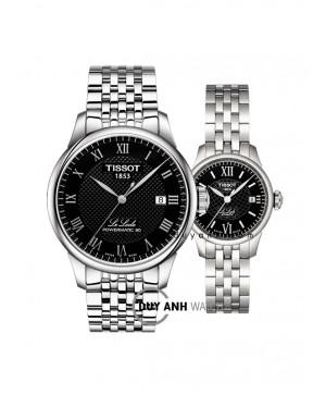 Đồng hồ đôi Tissot T006.407.11.053.00 và T41.1.183.53