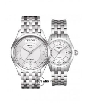 Đồng hồ đôi Tissot T038.430.11.037.00 và T038.007.11.037.00