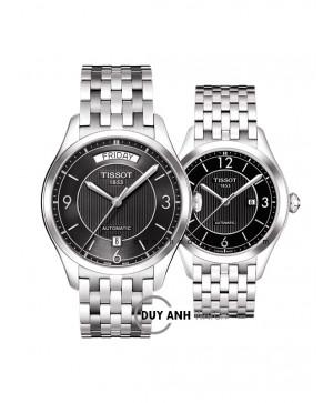 Đồng hồ đôi Tissot T038.430.11.057.00 và T038.207.11.057.01