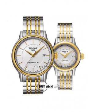 Đồng hồ đôi Tissot T085.407.22.011.00 và T085.207.22.011.00