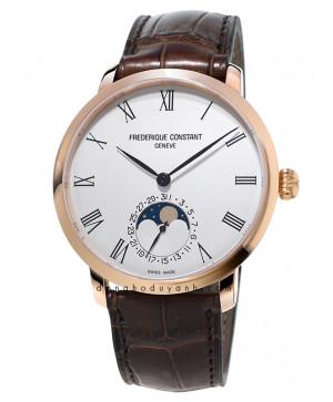 Đồng hồ Frederique Constant Slimline Moonphase FC-705WR4S4