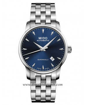 Mido Baroncelli Midnight Blue Gent M8600.4.15.1