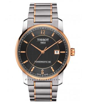 TISSOT TITANIUM AUTOMATIC GENT T087.407.55.067.00