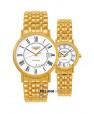 Đồng hồ đôi Longines L4.921.2.11.8 và L4.321.2.11.8 small