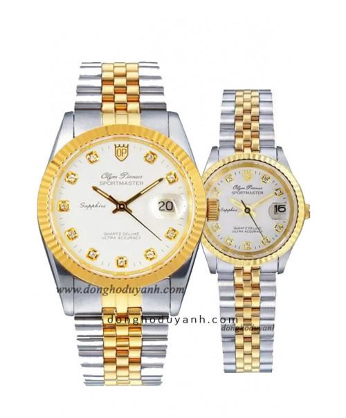 Đồng hồ đôi Olym Pianus OP89322SK-T và OP68322SK-T