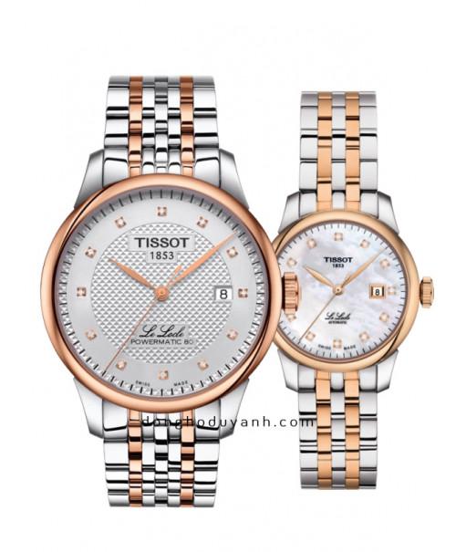 Đồng hồ đôi Tissot T006.407.22.036.01 và T006.207.22.116.00