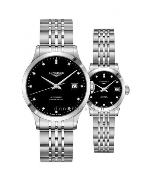 Đồng hồ đôi Longines L2.820.4.57.6 và L2.320.4.57.6