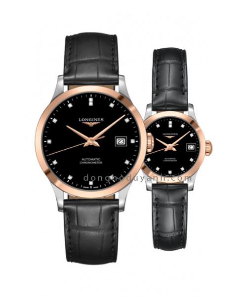 Đồng hồ đôi Longines L2.820.5.57.2 và L2.320.5.57.2