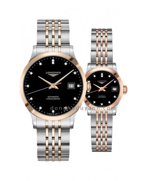 Đồng hồ đôi Longines L2.820.5.57.7 và L2.320.5.57.7