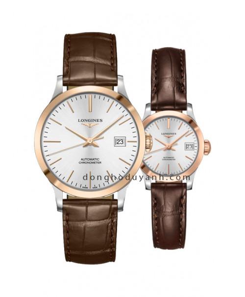 Đồng hồ đôi Longines L2.820.5.72.2 và L2.320.5.72.2