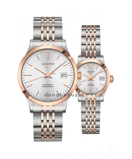 Đồng hồ đôi Longines L2.820.5.72.7 và L2.320.5.72.7
