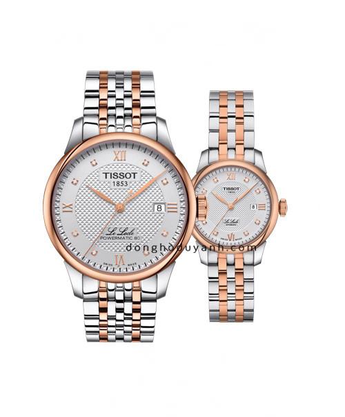 Đồng hồ đôi Tissot T006.407.22.036.00 và T006.207.22.036.00