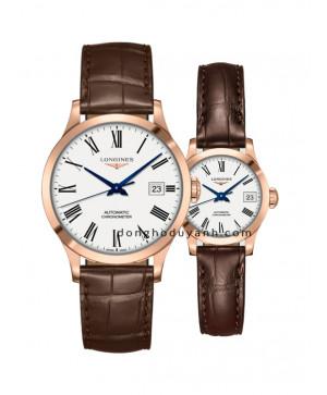 Đồng hồ đôi Longines L2.820.8.11.2 và L2.320.8.11.2