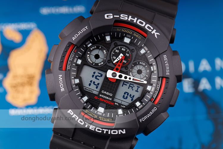 CASIO G-SHOCK GA-100-1A4DR