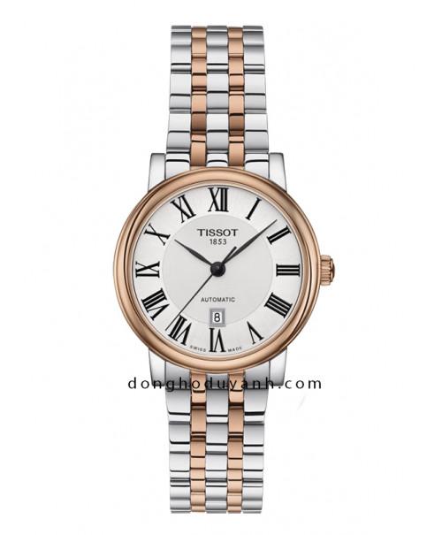 Đồng hồ Tissot Carson Premium Automatic Lady T122.207.22.033.00