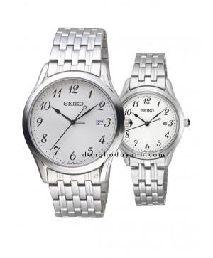 Đồng hồ đôi Seiko SUR299P1 và SUR643P1