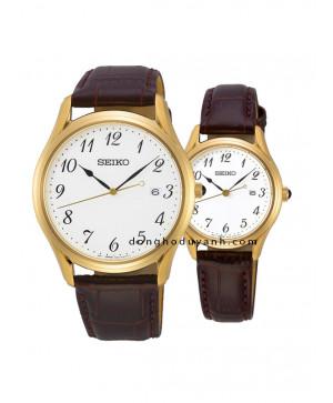 Đồng hồ đôi Seiko SUR306P1 và SUR638P1