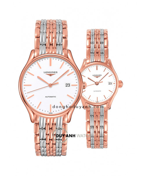 Đồng hồ đôi Longines L4.960.1.12.7 và L4.360.1.12.7