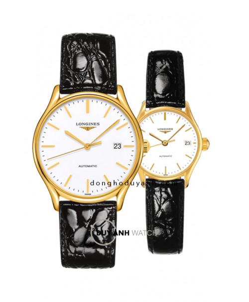 Đồng hồ đôi Longines L4.960.2.12.2 và L4.360.2.12.2