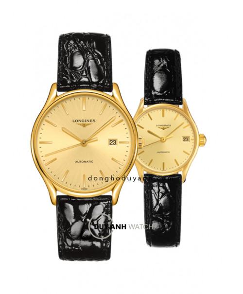 Đồng hồ đôi Longines L4.960.2.32.2 và L4.360.2.32.2