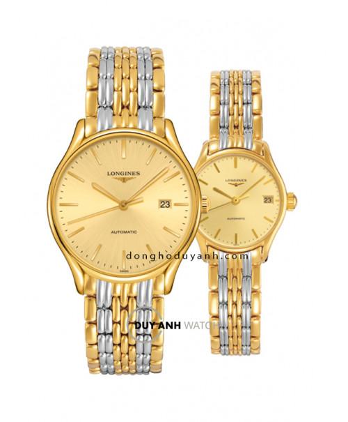 Đồng hồ đôi Longines L4.960.2.32.7 và L4.360.2.32.7