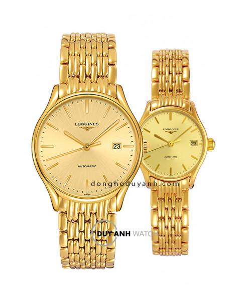 Đồng hồ đôi Longines L4.960.2.32.8 và L4.360.2.32.8