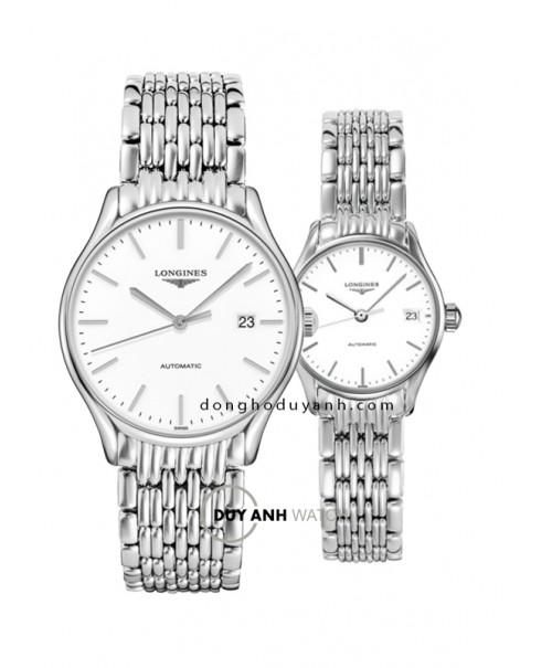 Đồng hồ đôi Longines L4.960.4.12.6 và L4.360.4.12.6