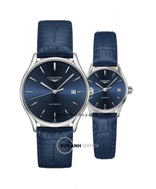 Đồng hồ đôi Longines L4.960.4.92.2 và L4.360.4.92.2