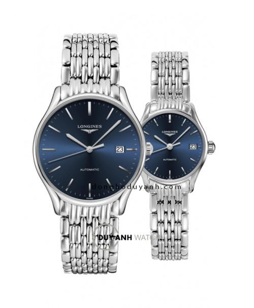 Đồng hồ đôi Longines L4.960.4.92.6 và L4.360.4.92.6