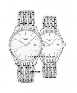 Đồng hồ đôi Longines L4.859.4.12.6 và L4.359.4.12.6