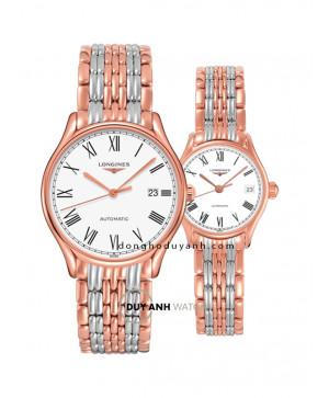 Đồng hồ đôi Longines L4.960.1.11.7 và L4.360.1.11.7