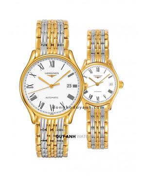 Đồng hồ đôi Longines L4.960.2.11.7 và L4.360.2.11.7