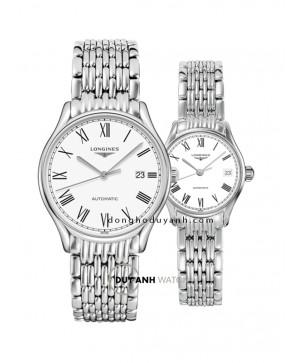 Đồng hồ đôi Longines L4.960.4.11.6 và L4.360.4.11.6
