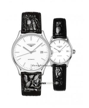 Đồng hồ đôi Longines L4.960.4.12.2 và L4.360.4.12.2