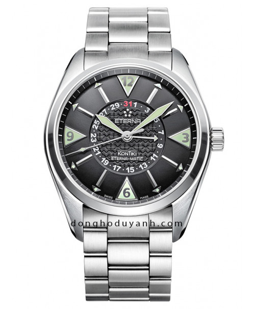 Đồng hồ Eterna Kontiki Four-Hands 1592.41.41.0217