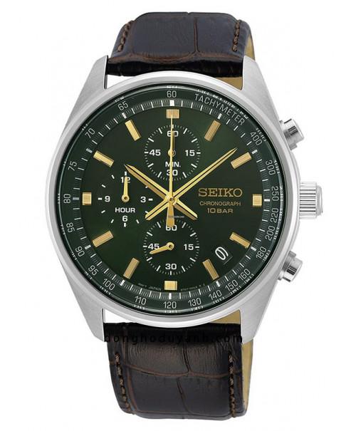 Đồng hồ Seiko Chronograph SSB385P1