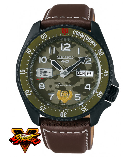 Đồng hồ Seiko 5 Sports GUILE - Indestructible Fortress SRPF21K1