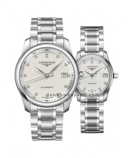 Đồng hồ đôi Longines Master L2.793.4.77.6 và L2.257.4.77.6