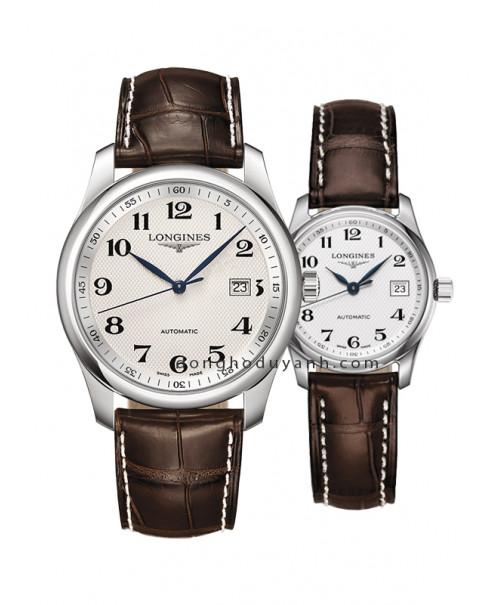 Đồng hồ đôi Longines Master L2.793.4.78.3 và L2.257.4.78.3
