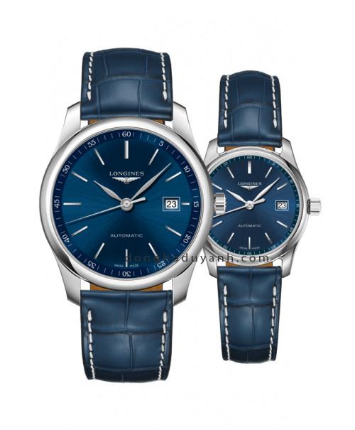 Đồng hồ đôi Longines Master L2.793.4.92.0 và L2.257.4.92.0