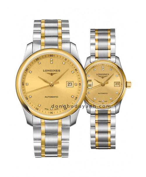 Đồng hồ đôi Longines Master L2.793.5.37.7 và L2.257.5.37.7
