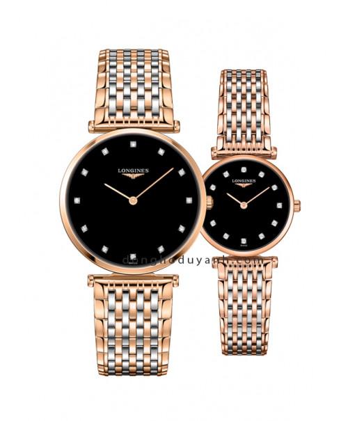 Đồng hồ đôi Longines L4.755.1.57.7 và L4.209.1.57.7